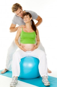 massage schwangere mit mann