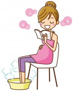 足湯 妊婦