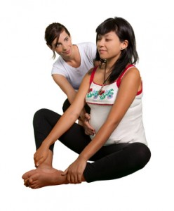 Yoga for pregnant mother